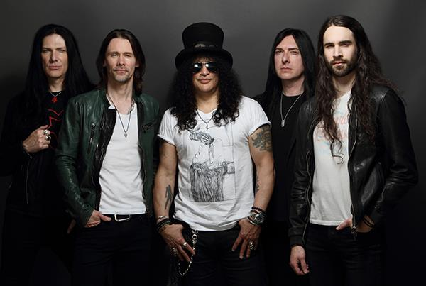 Slash in concerto a Servigliano